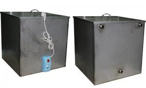 Бак нержавейка 125 литров с ТЭНом