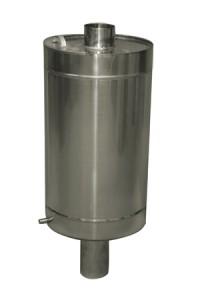 Бак на трубе круглый 80 литров