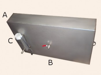 Бак 60 литров с тэном - предлагаем купить в интернет-магазине металлоконструкций metallstore в киеве недорого